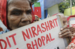 Bhopal agitation. Stock Photos