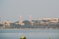 Bhopal-Stadt Taj Ul Masajid stockfoto