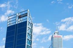 BHP Biliton och Rio Tinto som bryter i Perth Royaltyfria Bilder