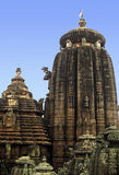 bhubaneshwar tempel Arkivfoton