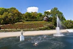Bhubing palace. Some area of the Bhubing palace, Thailand royalty free stock photo