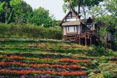 Bhubing slott i Chiangmai, Thailand royaltyfria bilder