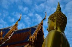 Bhuda-Bild in Wat Arun Temple Stockbilder