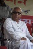 Bhuda Deb Bhattachraya bij een Verzameling. Stock Fotografie