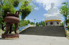 Bhudda. The big buddha at Nha Trang Royalty Free Stock Images