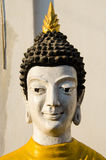 The bhudda. In thai temple Royalty Free Stock Photo