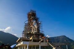 Bhudda art constructing Royalty Free Stock Photo