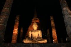 Bhudda en la posición sentada Fotografía de archivo