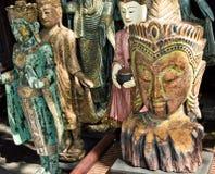 Bhudda image sale on street road Royalty Free Stock Photo