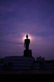 Bhudda Puhtthamonthon在泰国 库存图片