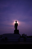 Bhudda Puhtthamonthon in Thailand Stock Afbeelding
