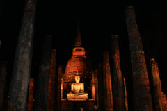 Bhudda in sitting position Stock Images
