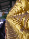 Bhudda in Thailand stock foto