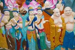 Bhuddas mosaik i Mal; aysia Arkivfoton