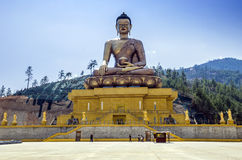 Bhuddha Dordenma, Timbu, Bhután Imagen de archivo