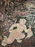 Bhuddha i Thailand Arkivfoton
