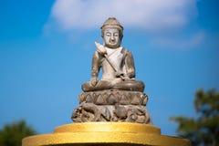 Bhuddism statuy meditaion Obraz Stock
