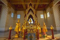 Bhudha statue. Of temple in Thailand Royalty Free Stock Photo