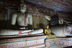 Bhudha staty Arkivbilder