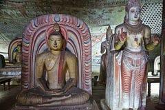 Bhudha staty Arkivfoto