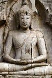 bhudha wizerunku drewno Obraz Royalty Free