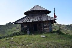 bhudher洞寺庙  免版税库存图片