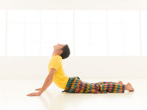 Bhujangasana cobra pose Stock Photography