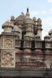 Bhuleshwar寺庙圆顶,湿婆,浦那-索拉普高速公路阁下印度寺庙,在Yawat附近,浦那,马哈拉施特拉 免版税库存图片