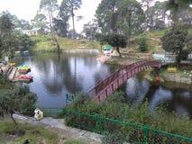 Bhulla sjö royaltyfria foton