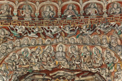 bhumibodhisattvagrottan details vimala Royaltyfri Bild