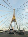 Bhumibol 1座桥梁 免版税库存图片
