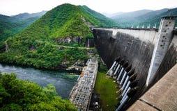 Bhumibol水坝 免版税库存照片