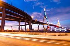 Bhumibol Brücke Lizenzfreies Stockbild