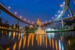 Bhumibol Brücke Stockbild