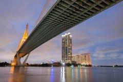 Bhumibol Brücke stockfotos