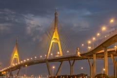 Bhumibol Brücke Lizenzfreie Stockbilder