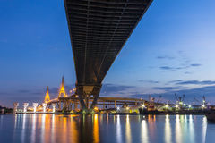 Bhumibol Bridge Stock Image