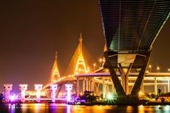 bhumibol Bridge2 Imagen de archivo libre de regalías