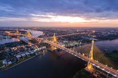 Free Bhumibol Bridge Stock Photography - 67257922