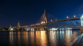 The Bhumibol Bridge Stock Image
