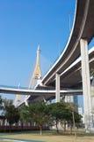 Bhumibol Bridge, Bangkok, Thailand Royalty Free Stock Image