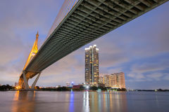Bhumibol bridge stock photos