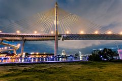Bhumibol Bridge Stock Images