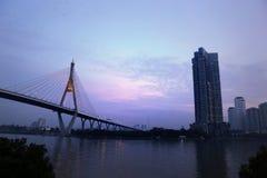 Bhumibol 1 Bridge stock photo