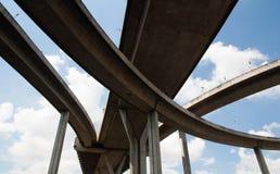 Bhumibol Bridge Stock Photography
