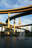 Bhumibol Bridge, The Industrial Ring Road Bridge Royalty Free Stock Photo