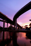 Bhumibol Bridge, The Industrial Ring Road Bridge Stock Photography