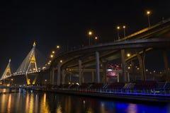 Bhumibol Bridge Stock Images