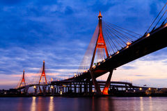 Bhumibol Bridge Royalty Free Stock Photos