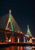Bhumibol Bridge, Thailand Royalty Free Stock Photos